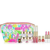 Estee Lauder 2014 7 Pcs Gift Set $165 Value Advanced Night Repair Serum, Advanced Timezone or Resilience Lift Firming Day and Night Cream,pure Colour Nail Lacquer