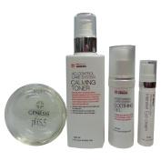 Moisturising skin care set- N-Amino Bar,Calming Toner, Soothing Gel, Intensize Eye Cream
