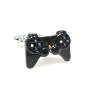 Playstation 3 Cufflinks PS3 Controller Joystick TV Games + Free Box & Cleaner