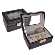 "Royce Leather ""Kate"" Jewellery Box"