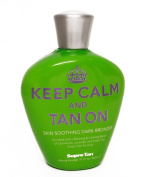 2014 Keep Calm And Tan Dark Bronzer Tanning Lotion - 300ml