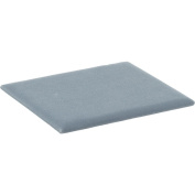 Silver Cloud Velvet Covered Half Size Display Pad