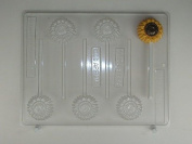 Small Sunflower AO139 All Occasion Chocolate Candy Mould
