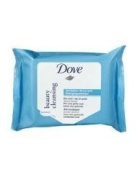 Dove Beauty Cleansing Wipes Clean, Tone & Moisturise 20 Wipes