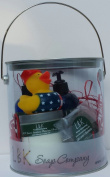 DUCKIES 4TH OF JULY CELEBRATE FREEDOM GIFT CAN