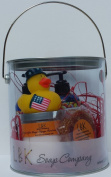 DUCKIES 4TH OF JULY FREEDOM RINGS GIFT CAN