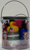 DUCKIES 4TH OF JULY Venus Spice Baby Powder GIFT CAN