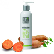 When I first heard about this formula, I knew it was going to be a big hit. Seriously, who doesn't know that the sweet potato is loaded with Vitamin A and beta carotene--long known for having almost magical skin healing properties. But it gets even bet ..