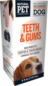 Natural Pet Pharmaceuticals by King Bio Teeth and Gums Control for Dog, 120ml