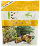 Made In Nature Organic Pineapple, Dried and Unsulfured, 90ml Bags