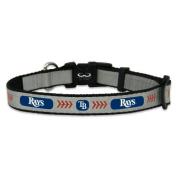 MLB Tampa Bay Rays Baseball Pet Collar, Reflective