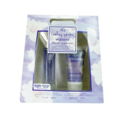 HEALING GARDEN WATERS SHEER PASSION by Coty BODY TREATMENT FRAGRANCE SPRAY 30ml & SHIMMERING BODY LOTION 50ml