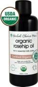 Herbal Choice Mari Organic Rosehip Oil 100ml/ 3.4oz Bottle