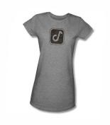 CONCORD MUSIC CONCORD SYMBOL Short Sleeve Juniors Sheer Shirt