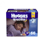 Huggies Overnites Size 5 Super Pack - 66 Count