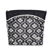 JJ Cole Mode Nappy Bag - Black Floret