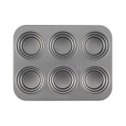 Cake Boss Novelty Nonstick Bakeware 2 Piece Round & Square Stacked Cakelette Pan Set