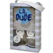 Baby Essentials Boys Cap and Sock Set - Lil Dude