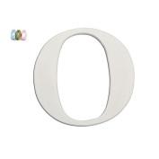 Koala Baby Uppercase Wall Letter O - White