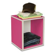 Way Basics Eco-Friendly Storage Cube Plus - Pink