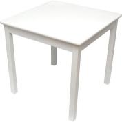 Lipper International Child's Table- White