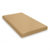 Dorel Home Products Quilted Twin Mattress-Tan