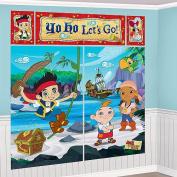 Jake and the Neverland Pirates Wall Decoration Kit