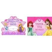 Disney Princess Invite & Thank You 16