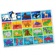 The Learning Journey Jumbo Floor Puzzle, Animals