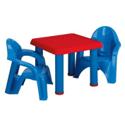 American Plastic Table and Chairs Set