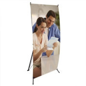 Banner Stand for Displaying Picture 60cm X 160cm Base