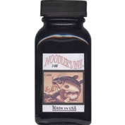 Noodler's Black Waterproof Fountain Pen Ink - Bulletproof,90ml