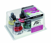 Fw Acrylic Artists Ink Primary Colours Set/6