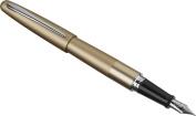 Pilot Metropolitan Collection Fountain Pen, Gold Barrel, Classic Design, Fine Nib, Black Ink