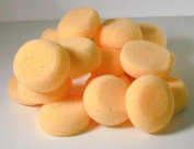 6.4cm Round Synthetic Silk Sponges for Painting, Crafts & More! Pack of 25 Sponges