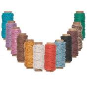Hemptique Hemp Cord Twine 1mm 110m 12 Colour Mix