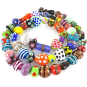 eCrafty's Everything But the Kitchen Sink! ONLY LAMPWORK Glass Beads Mix 0.2kg