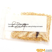 GEM-inside 3mm Gold Plated Open Jump Rings For Jewellery Making Findings