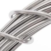 Aluminium Craft Wire Silver Colour 12 Gauge 39 Feet
