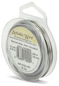 Beadalon 18 Gauge Artistic Wire, Stainless Steel, 10-Yard