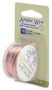 Artistic Wire 18-Gauge Bare Copper Wire, 4-Yards