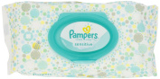 Pampers Sensitive Baby Wipes, Flip Top, Unscented, 56 Ct