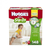 Huggies Little Movers Slip-On Nappy Pants, Size 4, 148 Count