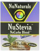 NuNaturals Nustevia Nocarbs Blend, 50 Packets