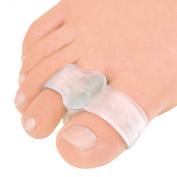Toe Buddy by Pedifix Toe Separator,Toe Straightener, Visco-Gel Cushion