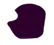 PerformanceFoot Dancer/Sesamoid Pad -0.3cm Purple Gel Reusable Right Foot