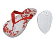 Fresco Pure Gel Self Adhesive Metatarsal Protector Pads for Flip Flop Sandals, Pair