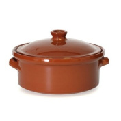 Cocotte Terra-Cotta Clay Pan with Lid - Medium