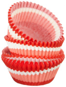 Regency Baking Cups for Cupcakes and Muffins, Red Swirl GREASEPROOF, 40 count Standard