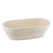Artisan Collection Oblong Proofing Banneton Basket-Wide